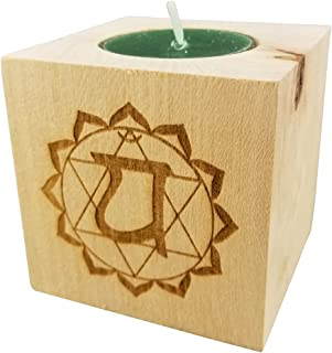 heart chakra anahata candle