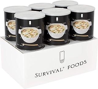 【25年保存/美味しい非常食】サバイバルフーズ[小缶]洋風とり雑炊 (6缶入)