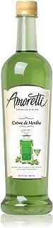 Amoretti Premium Syrup, Crème De Menthe, 25.4 Ounce
