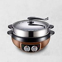 LITINGT Hot Pot Électrique Multi-Fonction Cuisinière Électrique Vapeur Électrique Wok Électrique Petit Pot Électrique Mais...