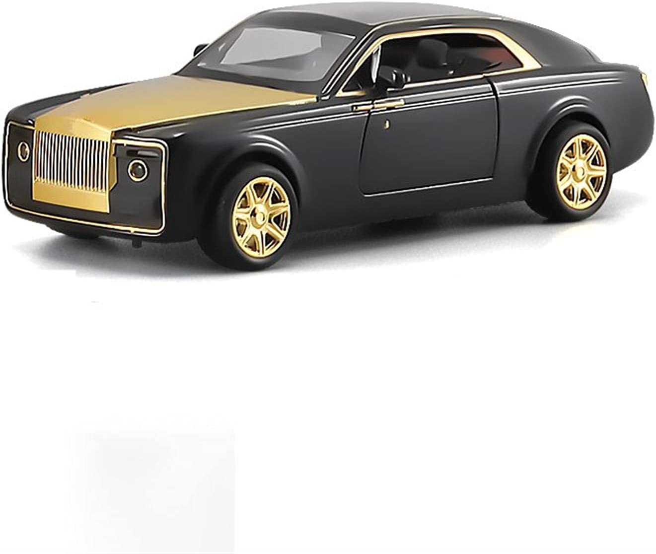 JKSM Diecast Model Car Charlotte Mall 1:24 Opening large release sale Rolls-Royce C Alloy Sweptail for