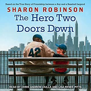 The Hero Two Doors Down audiobook cover art