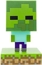 Paladone Minecraft Zombie Icon Light BDP mini-nachtlamp met grappige pixel, superhelder, plastic, meerkleurig