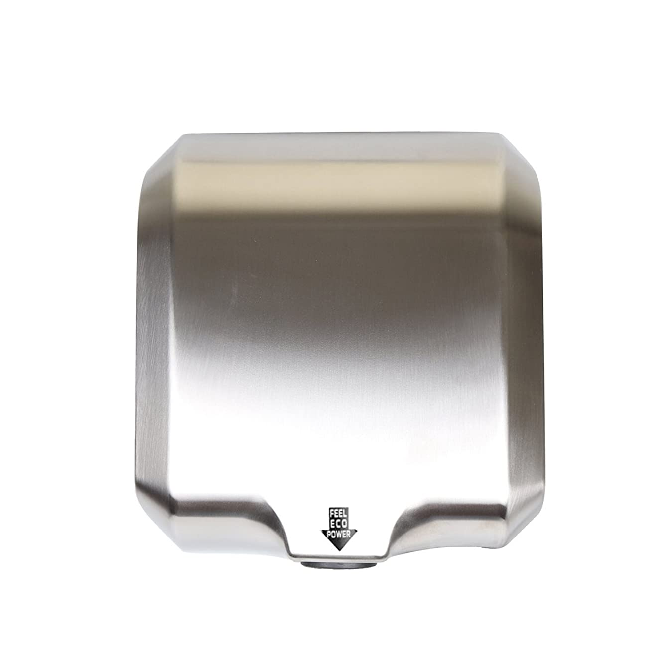 Goetland Stainless Steel Commercial Hand Dryer 1800w Automatic High Speed Heavy Duty Dull Polished