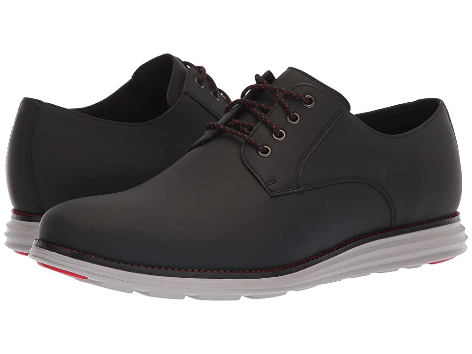 Cole Haan Original Grand Plain Toe (Black Matte Leather) Men