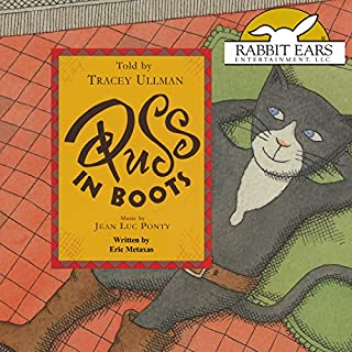 Puss in Boots audiobook cover art