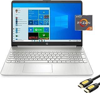 "H-P 15.6"" FHD Micro-Edge Slim Laptop, AMD Ryzen 3 3250U (Beat i3-10110U), 8GB RAM, 512GB SSD, USB-C, HDMI, Wi-Fi, Webcam, ..."