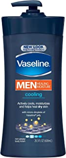 Vaseline 男士修复保湿身体乳液 - 冷却 - 20.3 盎司