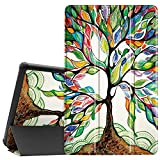 Famavala Shell Case Cover Compatible with 10.1' All-New Amazon Fire HD 10 Tablet [7th / 9th Generation, 2017/2019 Release] (BeLucky)