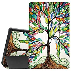 commercial Famavala shell compatible with the new 10.1-inch Amazon Fire HD 10 tablet [7th / 9th… kindle 10 cover