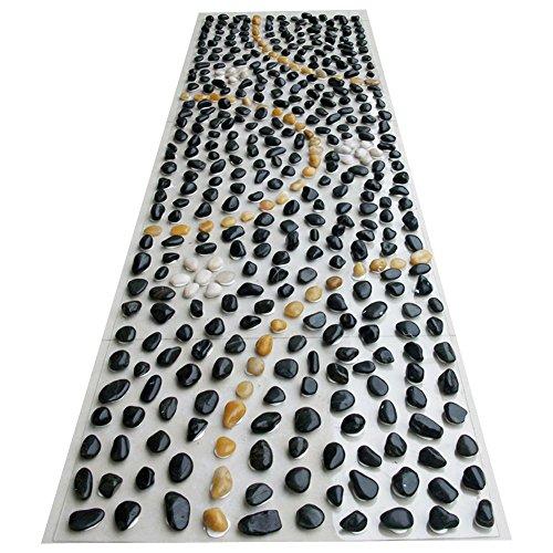 Eliteshine Rock massaggio PVC tappetino yoga tappetino da bagno tappeto da cucina per riflessologia