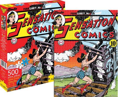Wonder Woman Sensation Comics 500 rompecabezas pieza del puzzle 480mm x 350mm (nm)