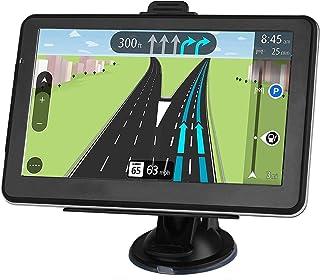 Navegación GPS para Coche, Pantalla táctil HD GPS de 7 Pulgadas, 8 GB, 128 MB, navegación para Autos con Reino Unido, Canadá, México actualización Gratuita de mapas de por Vida