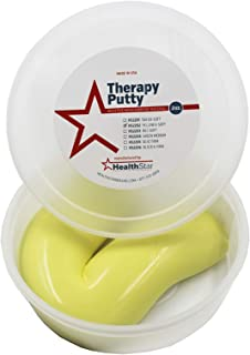 Therapy Putty Resistive Hand Exercise Putty, 2 Ounce Yellow X-Soft