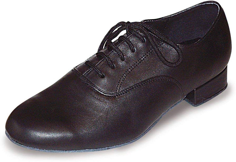 Patrick Men's Wide Fit Ballroom shoes, Black, 9 UK