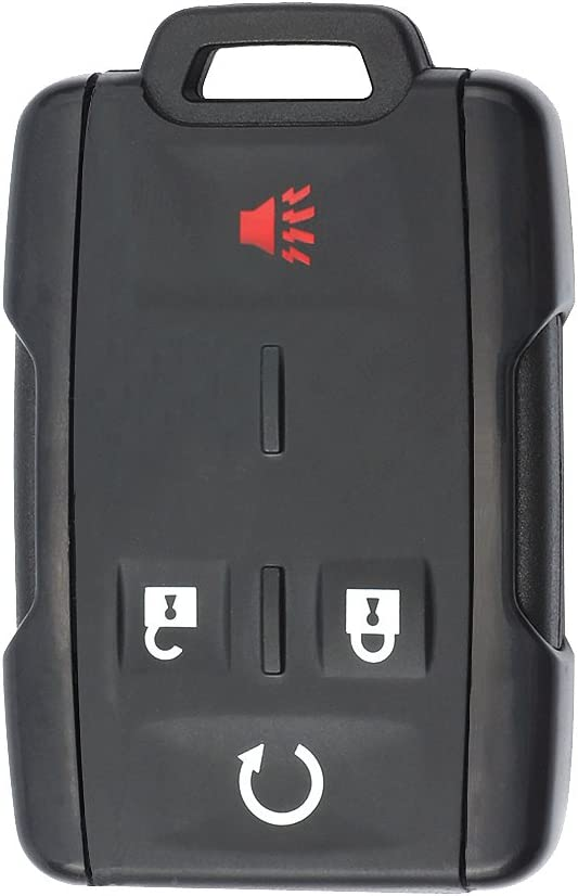 Keyecu Selling rankings Replacement Remote Key Shell Case Wi for Fob 4B Over item handling Chevrolet