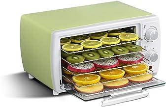 Máquina de conservación de alimentos para el hogar Deshidratador de alimentos, temperatura ajustable Secador de 38 a 78 ° C para frutas frescas y deshidratadas Hortalizas 5 bandejas ajustables 12 hora