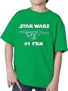 BBT Boys Girls Funny Star Wars #1 Fan Star Trek T-Shirt Tee