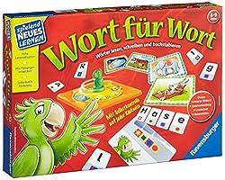 Schreiben und Lesen lernen mit dem Spiel Wort für Wort