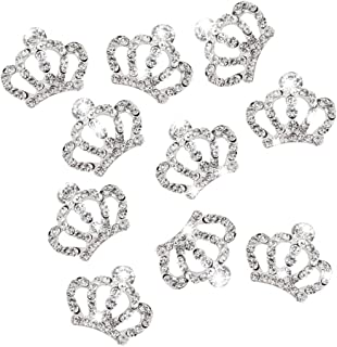 rhinestone princess crown embellishment