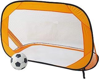 Fotbollsnät vikbar pop-up fotbollsmål och bärbar fotbollsmål nät barn utomhus trädgårdsleksak 120 x 85 cm för barn fotboll...