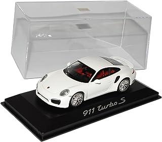 Minichamps Porsche 911 991 Coupe Turbo S Weiss Ab 2012 1/43 Modell Auto