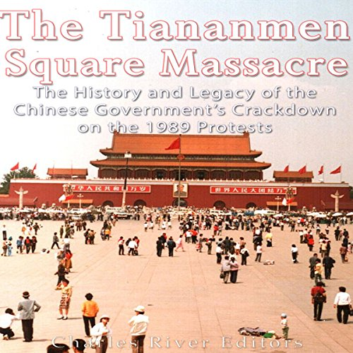 The Tiananmen Square Massacre audiobook cover art