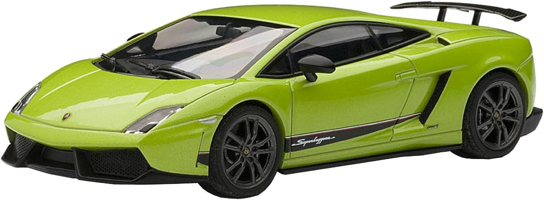 Lamborghini Gallardo LP5704 Superleggera green Ithaca   Green 1 43 Model 54644