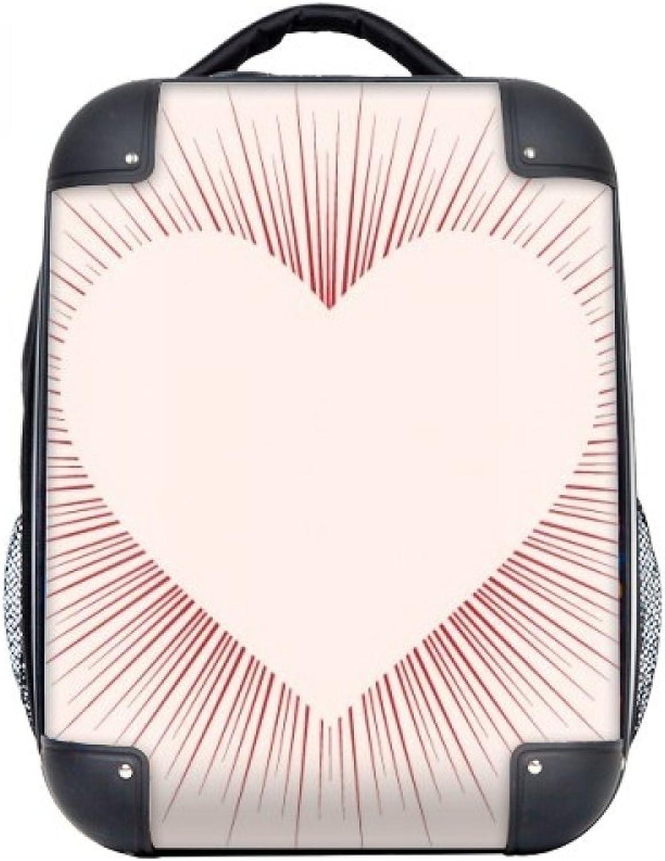 DIYthinker Herz-geformte Liebes-Valentinstag-Hard Case Schulter Kind-Rucksack-Geschenk 15