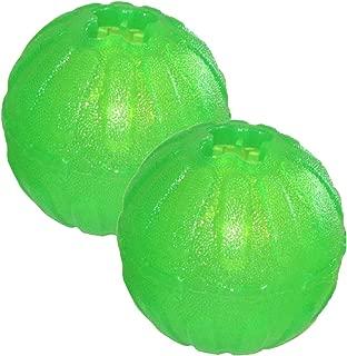 (2 Pack) Starmark Everlasting Fun Ball Dog Toy, Medium/Large