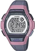 Casio Women's Runner Quartz Running Watch with Resin Strap, Black, 19.3 (Model: LWS-2000H-4AVCF)