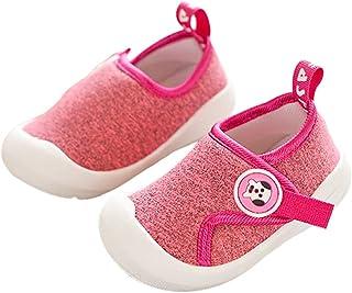DEBAIJIA Chaussures pour Tout-Petits 1-4T Bébé Enfants Marche Baskets Respirantes Mesh Semelle Souple Antidérapante Matéri...