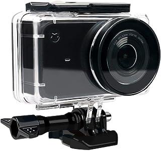Eyeon Carcasa Impermeable Buceo Estuche Protectora Carcasa Agua para la Cámara de Acción Xiaomi YI Mijia 4K Fotografía y Vídeo Subacuático