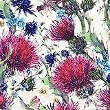 HEKO PANELS Oxford Blumen Wasserdichter Stoff Meterware