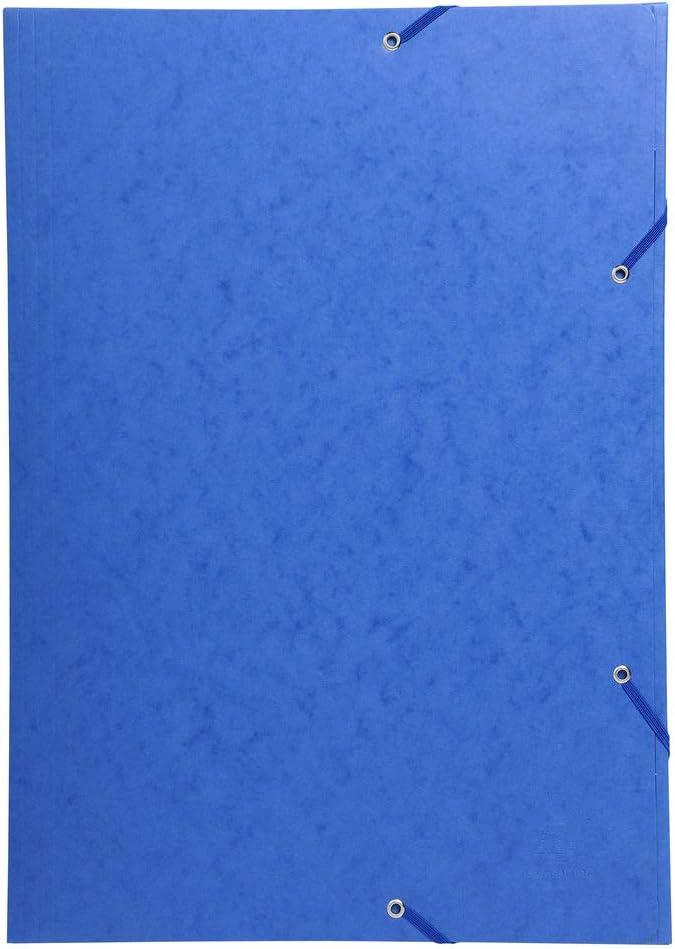 Exacompta carpeta Flexible de polipropileno 4/anillas de 30/mm ancho de 40/mm