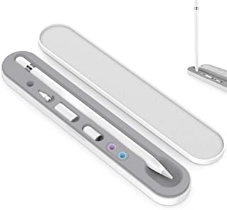 AhaStyle ポータブル iPencil ケース 硬質 アップルペンシル収納ケース 紛失防止 Apple Pencil 第二世代と第一世代適用 (収納ケースのみ) (ホワイト)