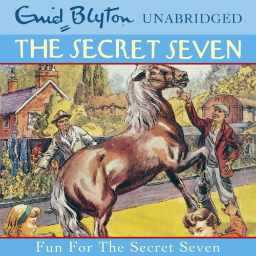 Fun for the Secret Seven audiobook cover art