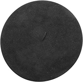 Classic French Beret (Adult)- 100% Wool - Black