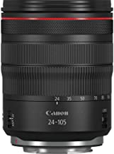 Canon RF 24-105mm F4L is USM RF24-105LIS Compact System Camera Lens Black