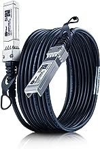 SFP Cable, 10G SFP+ DAC, 10GBASE-CU Passive Direct Attach Copper Twinax Cable for Cisco SFP-H10GB-CU1M Meraki MA-CBL-TA-1M Ubiquiti D-Link Netgear Supermicro Mikrotik Open Switch Devices 1M