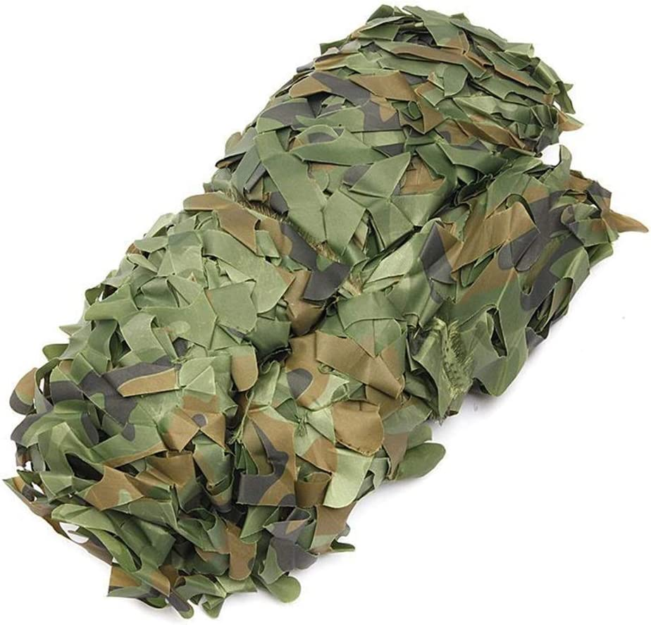 QIANMEI Camouflage Beauty products half net Netting for