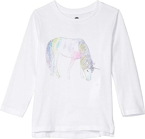 White/Watercolour Unicorn