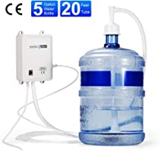 Bottle Water Dispensing Pump System - 1 Gallon Bottled Water Systems with 20ft PE Pipe 110V