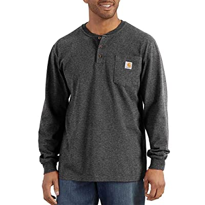 Carhartt Big Tall Workwear Pocket Long Sleeve Henley