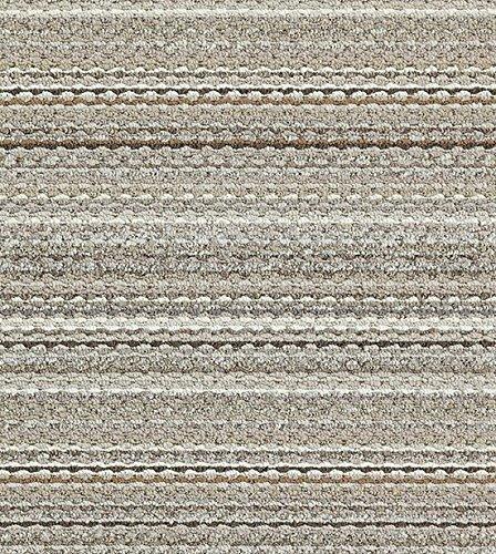 Garland Rug Carnival Area Rug, 5-Feet by 7-Feet, Random Earthtone Stripes