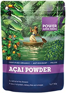 Power Superfoods Organic Acai Powder, 50g
