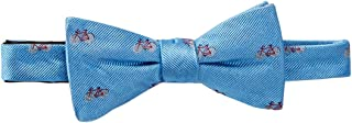 bicycle print bow tie