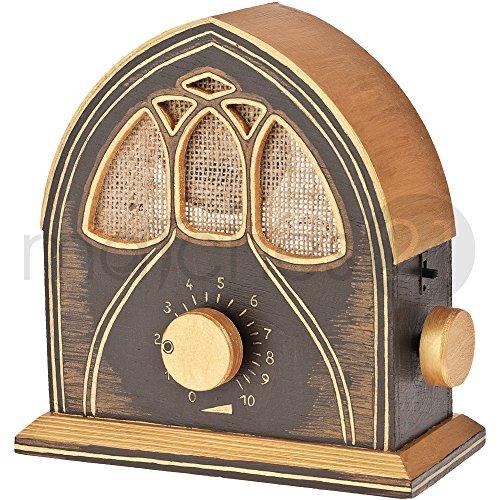 matches21 UKW Radio (Mono) Bausatz f. Kinder Werkset Bastelset ab 13 Jahren
