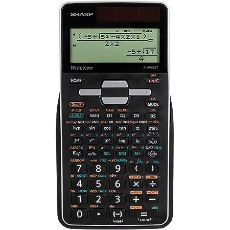 Sharp El W506tb Sl Schulrechner Mit Writeview El W506tbsl Schwarz Bürobedarf Schreibwaren