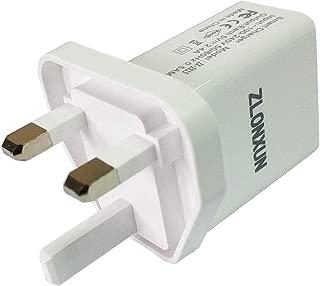 UK, Hong Kong, Ireland Charger Cube Power Adapter Plug with Dual USB for iPhone,Samsung,LG,Motorola,Nokia,HTC,All Phones,Camera,etc.